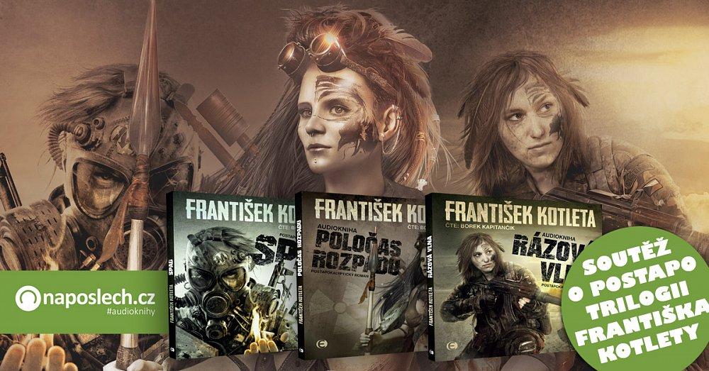 Soutěž o trilogii Františka Kotlety na 3 CD