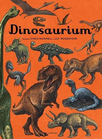 Soutěž o nádherně ilustrovanou knihu Dinosaurium