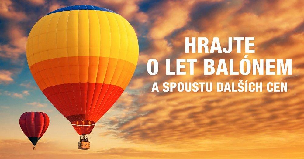 Soutěž s OC Nisa o let balónem a spoustu dalších cen