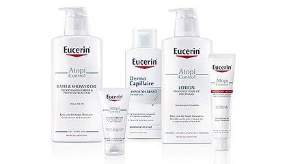 Soutěž o 10 balíčků dermokosmetické péče Eucerin AtopiControl