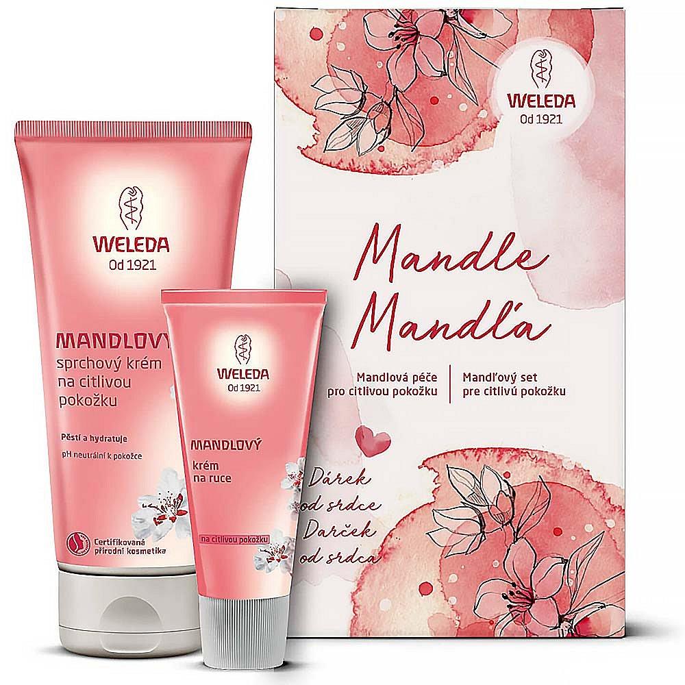 Soutěž o kosmetický balíček mandlové péče od Weledy