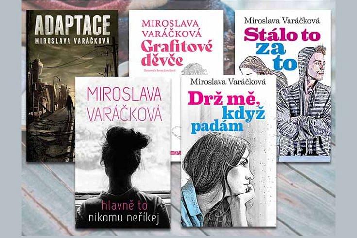 Získejte některou z knih pro mladé čtenářky i čtenáře