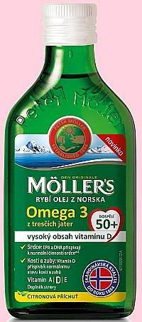 Soutěž o Möller´s rybí olej z tresčích jater pro dospělé nad 50