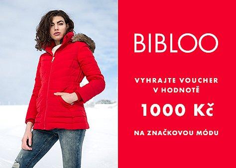 Hrajte o voucher v hodnotě 1000 Kč na nákup módy od Bibloo.cz