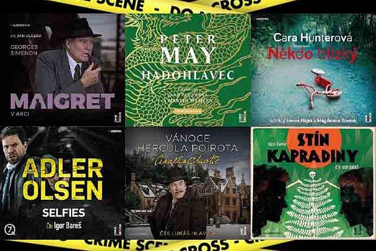 Vyhrajte detektivní audioknihu dle výběru