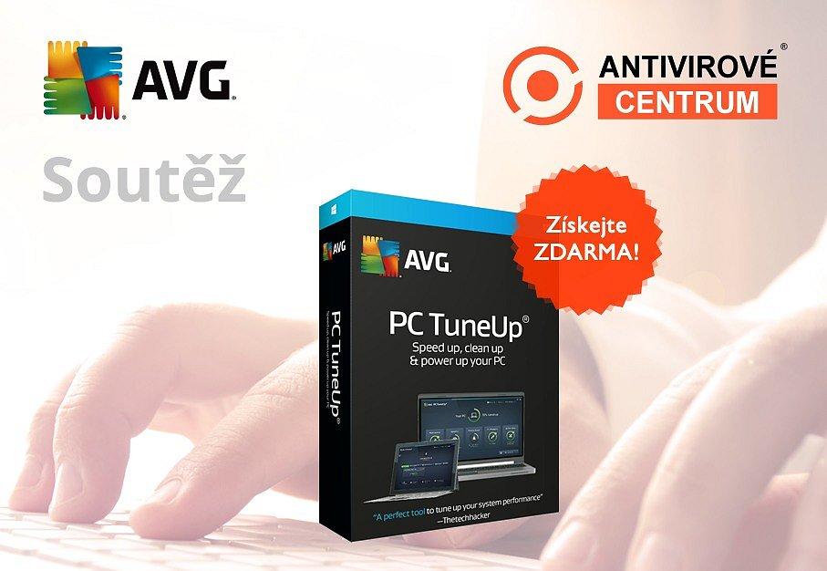 Velká šance získat AVG PC TuneUp zdarma