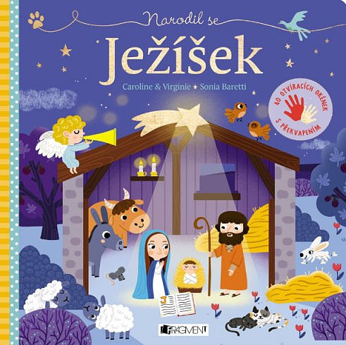 Soutěž o knížku Narodil se Ježíšek