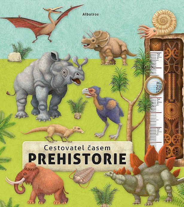 Soutěž o knihu Cestovatel časem - Prehistorie
