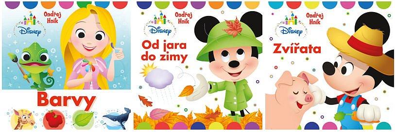Soutěž o balíček Disney leporel