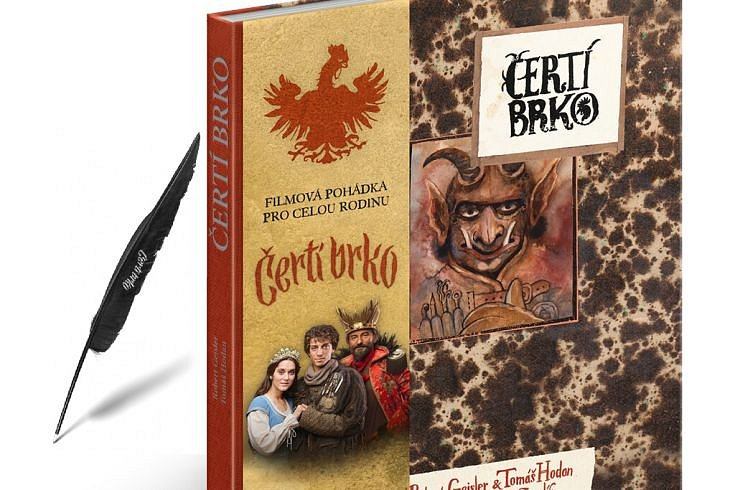 Vyhrajte tři knihy Čertí brko a pero s motivem pohádky