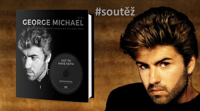 SOUTĚŽ o knihu GEORGE MICHAEL – Všemi zbožňovaný bouřlivý velikán popu