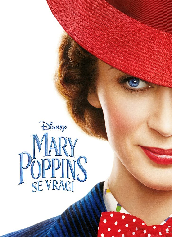 Soutěž o knihu Mary Poppins se vrací