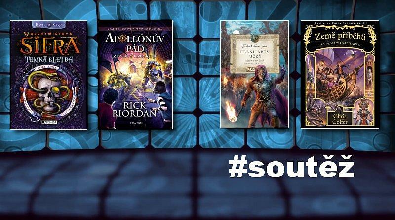 SOUTĚŽ o balíček fantasy knih pro děti