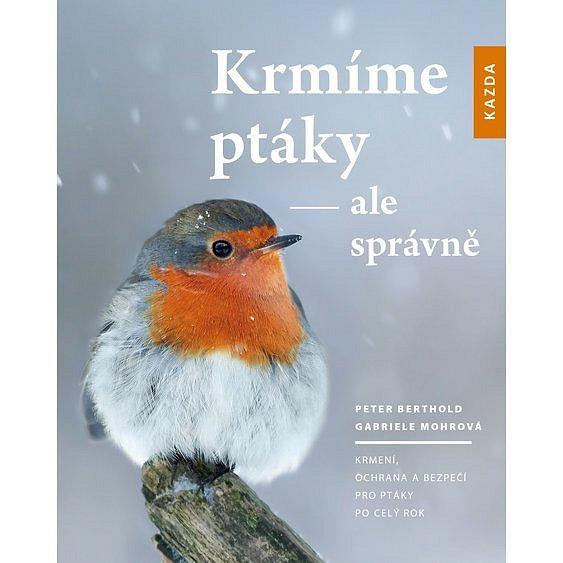 Soutěž o 3 knihy Krmíme ptáky - ale správně