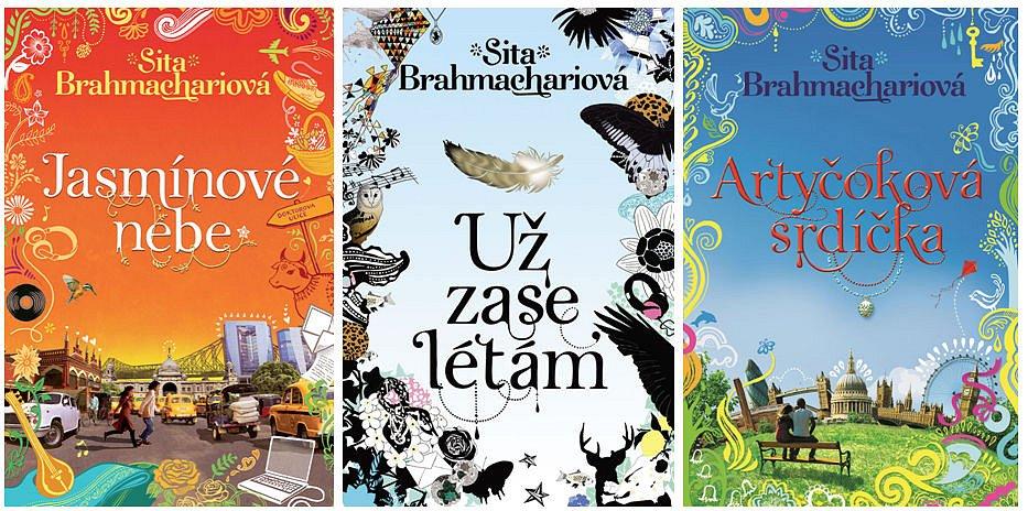 Soutěž o tři balíčky knih od Sity Brahmachariové
