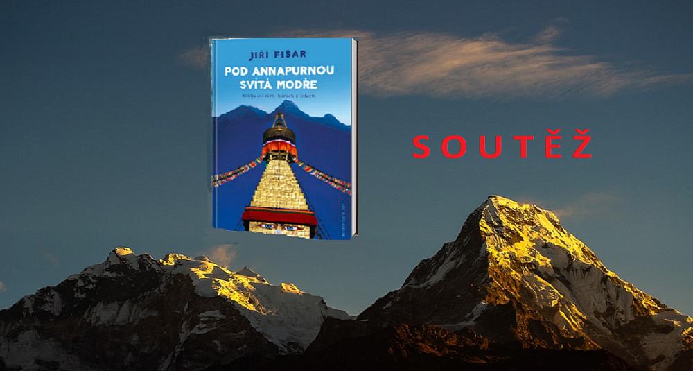 Soutěž o 3 výtisky knihy Pod Annapurnou svítá modře