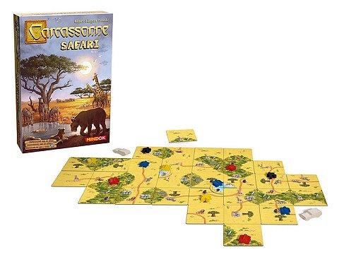 Soutěž o 3x stolní hru Carcassonne: Safari