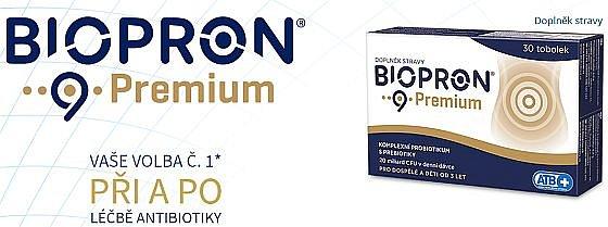 Soutěž o produkty Biopron 9 Premium