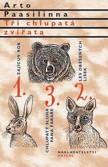 Soutěž o 5 knih Tři chlupatá zvířata