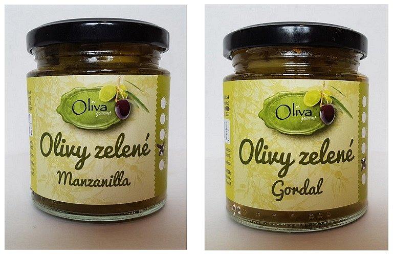 Soutěž o zelené olivy Manzanilla s okurkou a Gordal s cibulkou