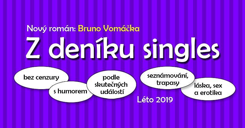 Hlasujte v anketě a vyhrajte právě připravovaný román Z DENÍKU SINGLES!