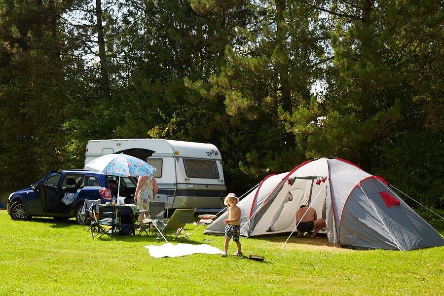 Poukazy o místa pro stany, karavany do kempu v Krkonoších
