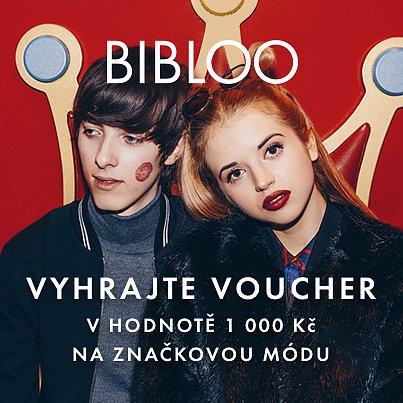 Soutěž o voucher v hodnotě 1000 Kč na nákup značkové módy od Bibloo.cz!