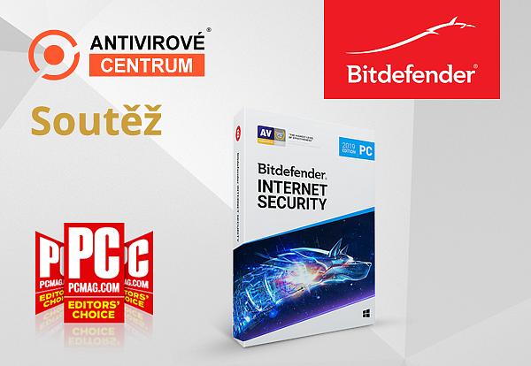 Velká šance získat Bitdefender Internet Security 2019 zdarma