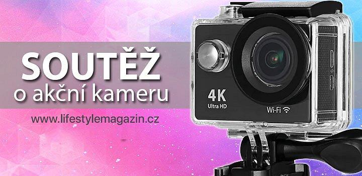 SOUTĚŽ O AKČNÍ VODOTĚSNOU KAMERU H9 ULTRA HD 4K.