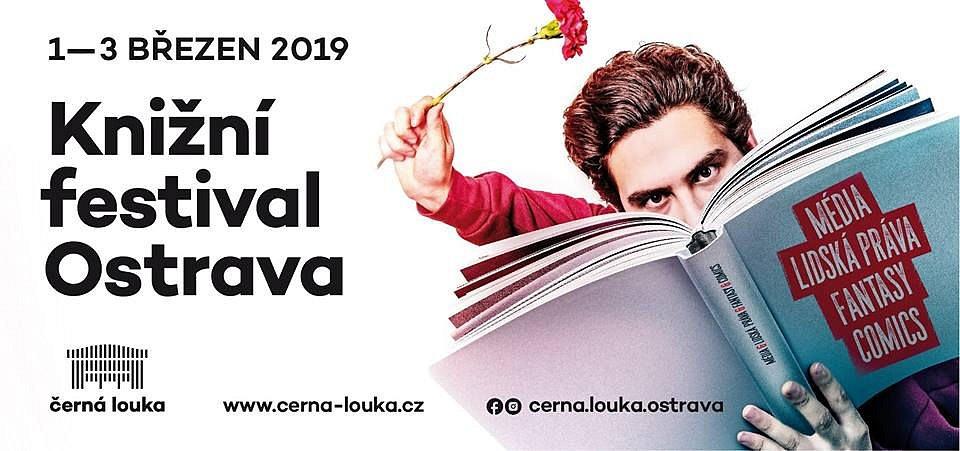 Soutěž o 5 lístků na knižní festival v Ostravě