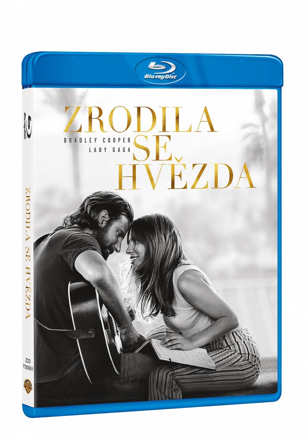 Vyhrajte úžasný film Zrodila se hvězda na DVD nebo Blu-ray