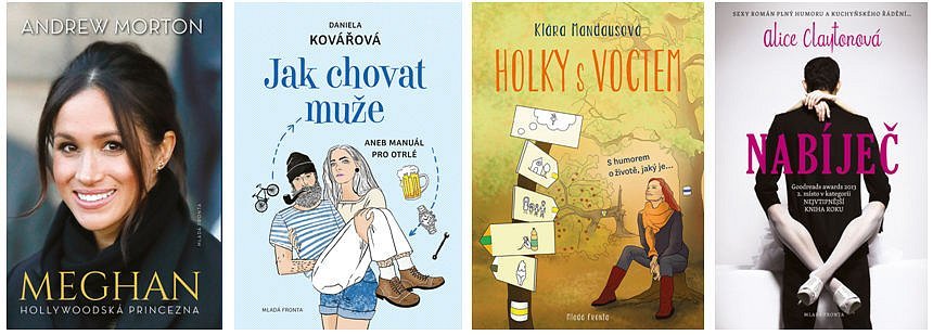 Valentýnská soutěž o balíček čtyř knih pro ženy