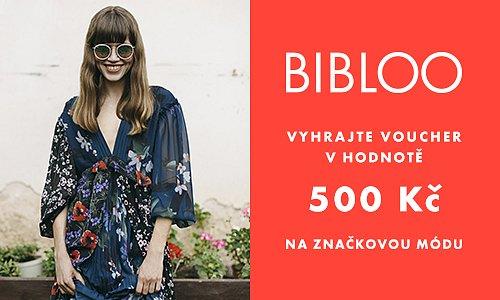 Hrajte o voucher v hodnotě 500 Kč na nákup módy od Bibloo.cz