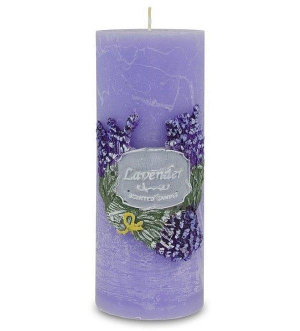 Soutěž o nádhernou svíčku v provensálském stylu LEVANDULE GARDEN