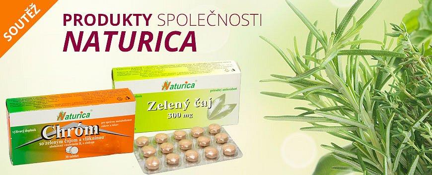 Soutěž o produkty Naturica