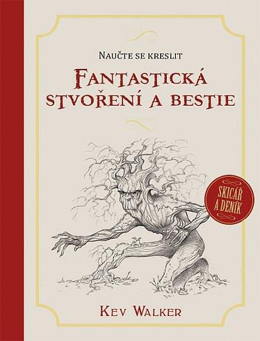 Soutěž o tři publikace Naučte se kreslit – Fantastická stvoření a bestie