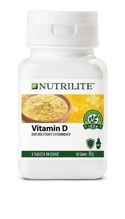 Vyhrajte tříměsíční dávku vitamínu D od Nutrilite