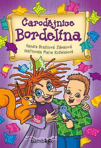 Soutěž o dětskou knížku Čarodějnice Bordelína