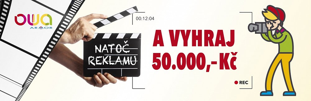Natoč reklamu a vyhraj 50 000 Kč