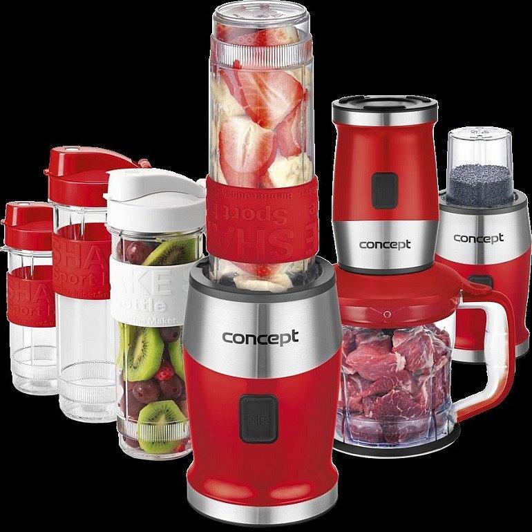 Soutěž o smoothie mixér CONCEPT SM-3392 v červené barvě