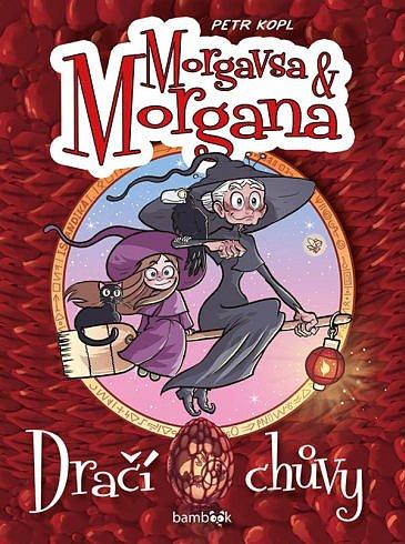 Soutěž o komiksovou knihu Morgana a Morgavsa: Dračí chůvy