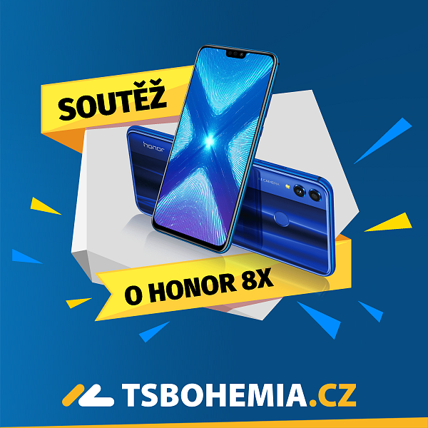 Soutěž o nadupaný mobil Honor 8X!