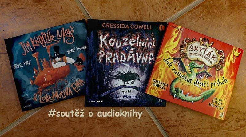 SOUTĚŽ o tři pohádkové audioknihy z vydavatelství OneHotBook