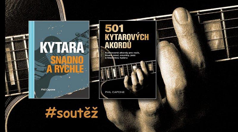 SOUTĚŽ o dvě knihy věnované kytarovým akordům