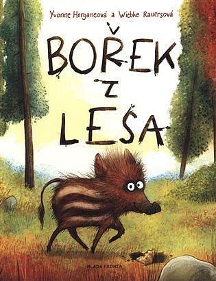 Soutěž o dětskou knížku Bořek z lesa