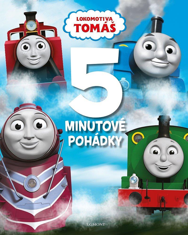 Soutěž o knihu Lokomotiva Tomáš – 5minutové pohádky