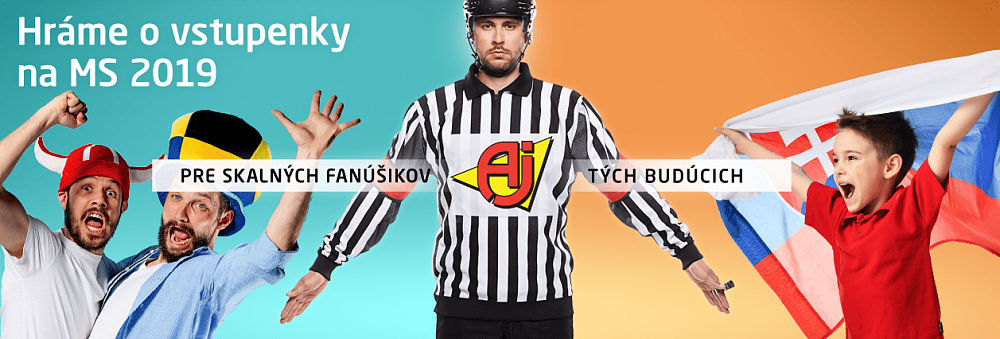 Súťaž o vstupenky na MS v hokeji | AJProdukty.sk