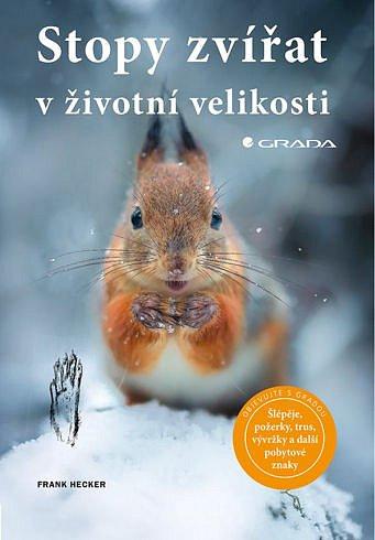 Soutěž o tři knihy Stopy zvířat v životní velikosti