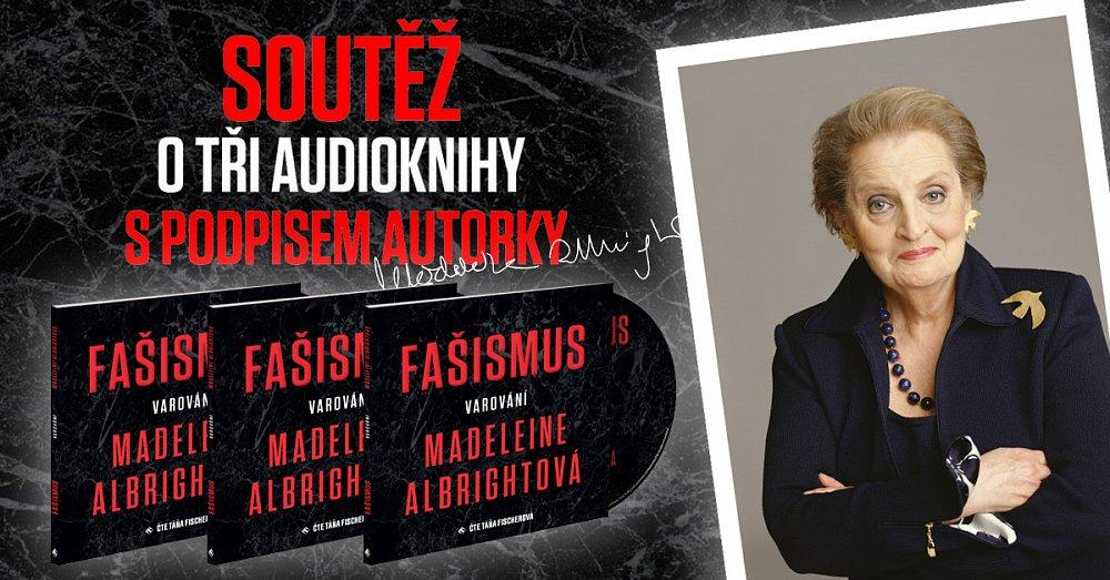 Soutěž o tři audioknihy s podpisem Madeleine Albrightové