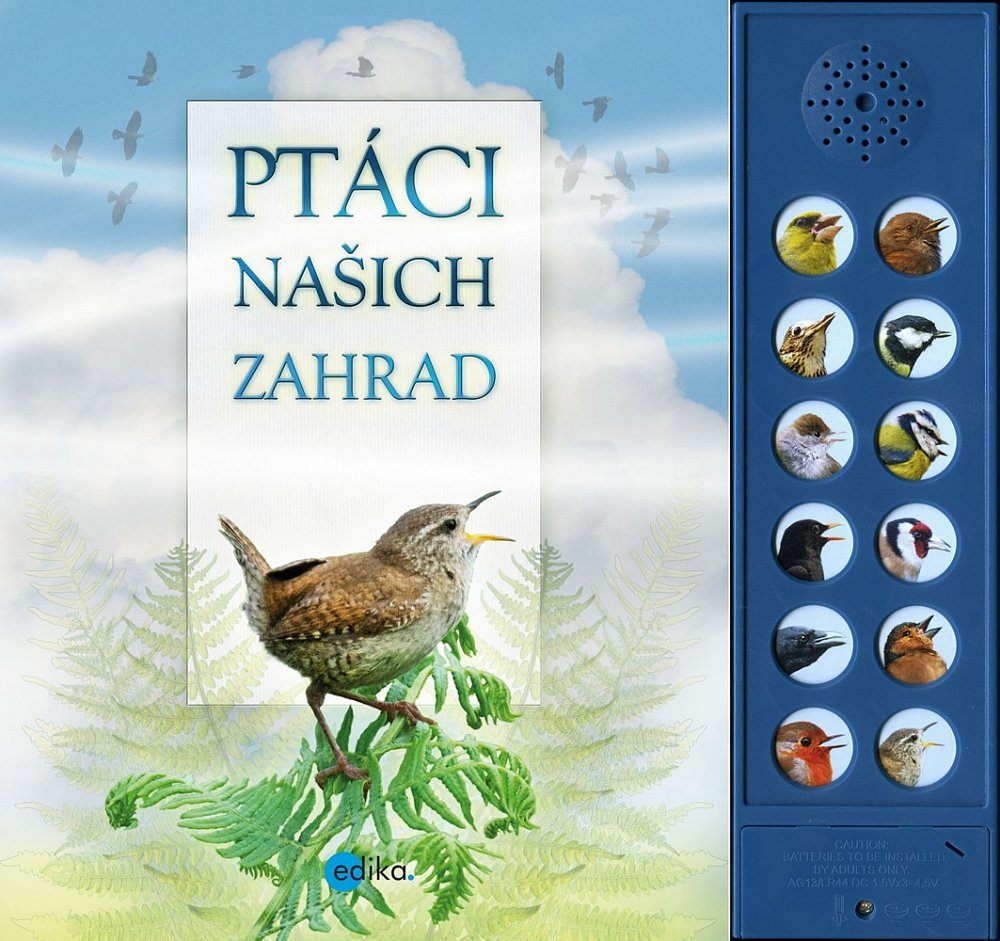 Soutěž o knihu Ptáci našich zahrad